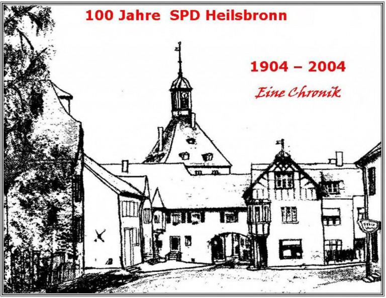 Festschrift 100 Jahre SPD Heilsbronn - Titelbild